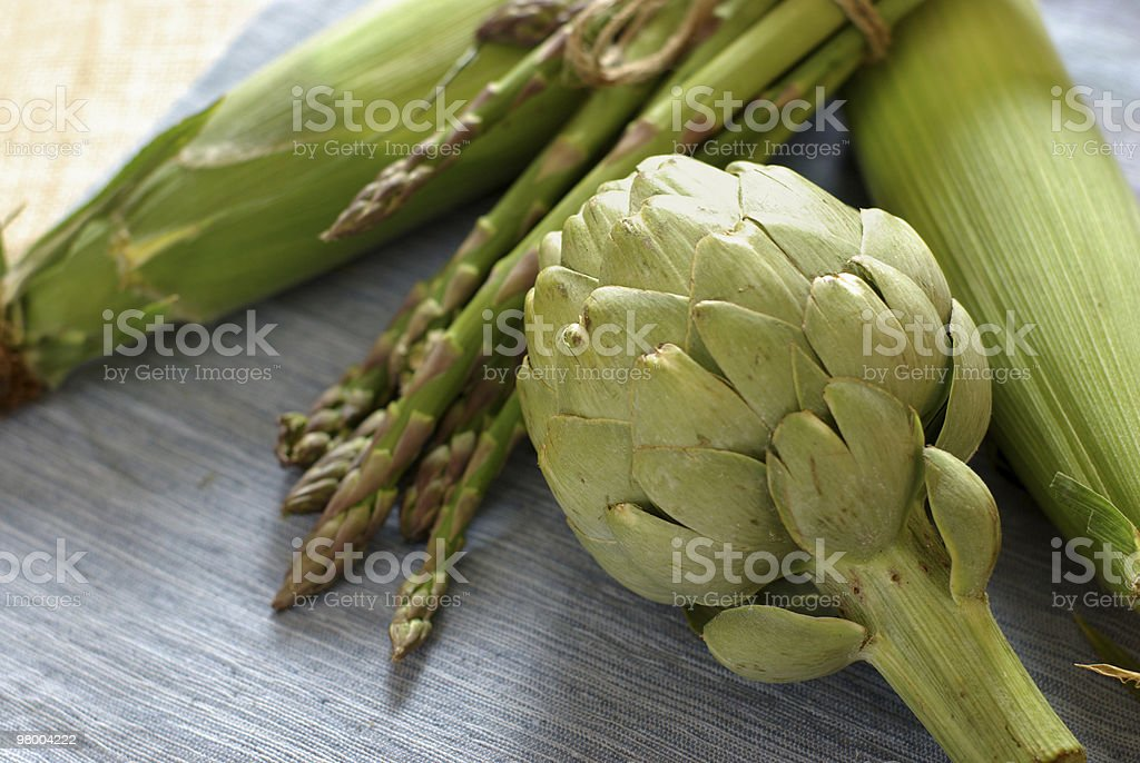 Early Summer Veggies royalty-free stock photo