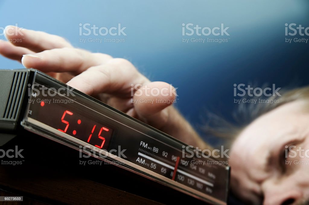 Early To Rise royalty-free stock photo