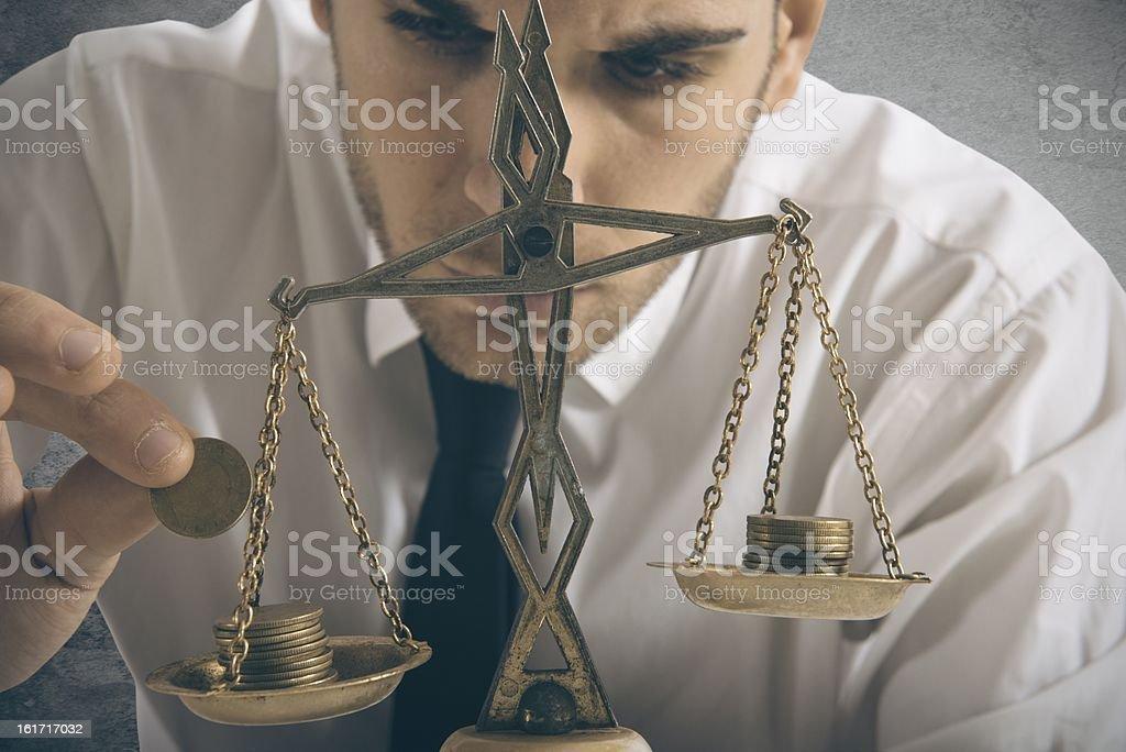 Earning balance - Royalty-free Adult Stock Photo