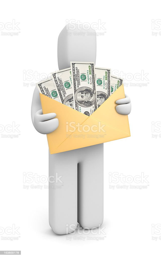 Earnings royalty-free stock photo