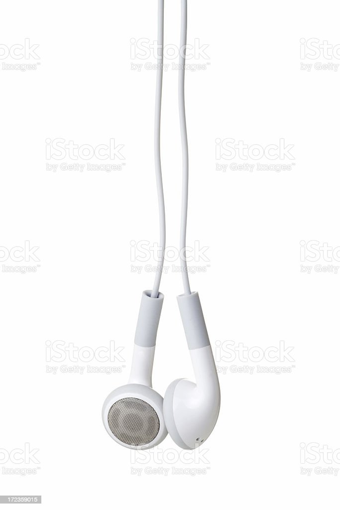 Earphones royalty-free stock photo