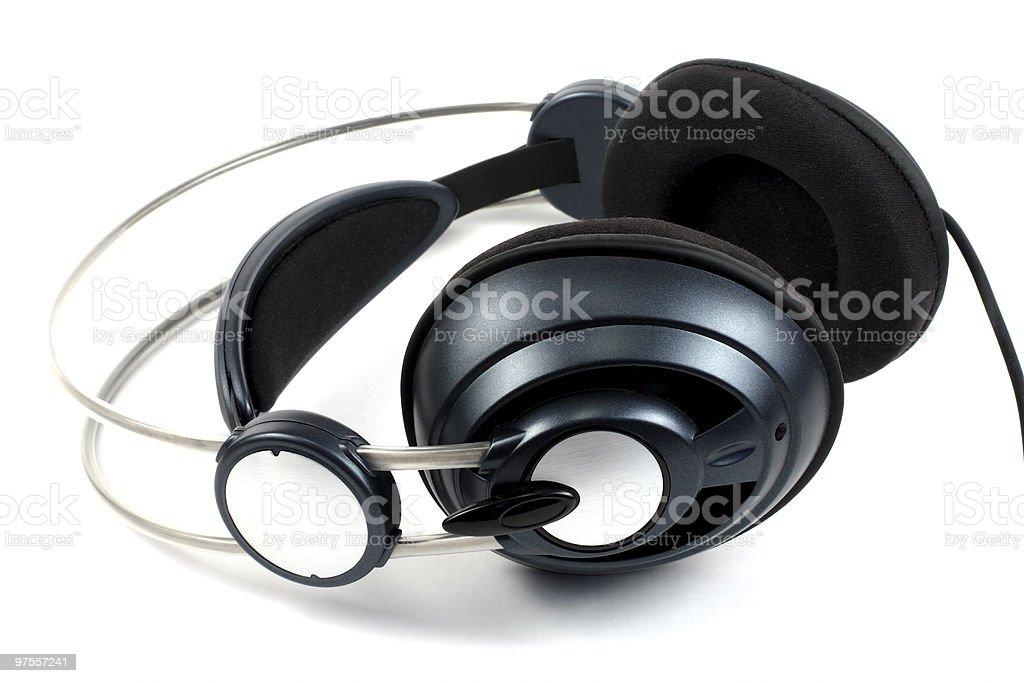 earphones royalty-free stock photo