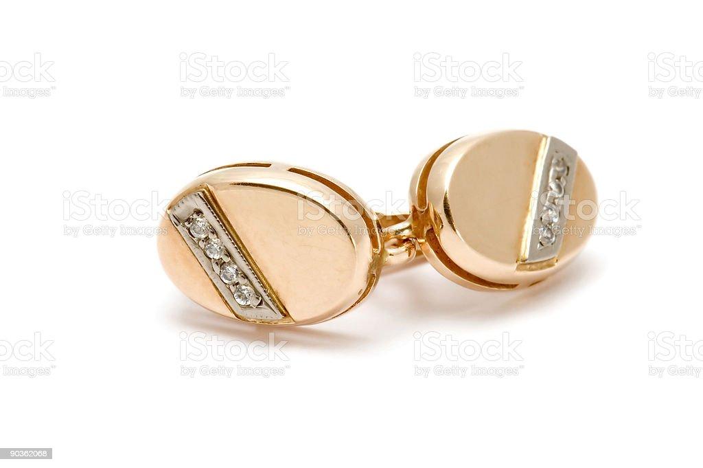 ear-ring macro royalty-free stock photo