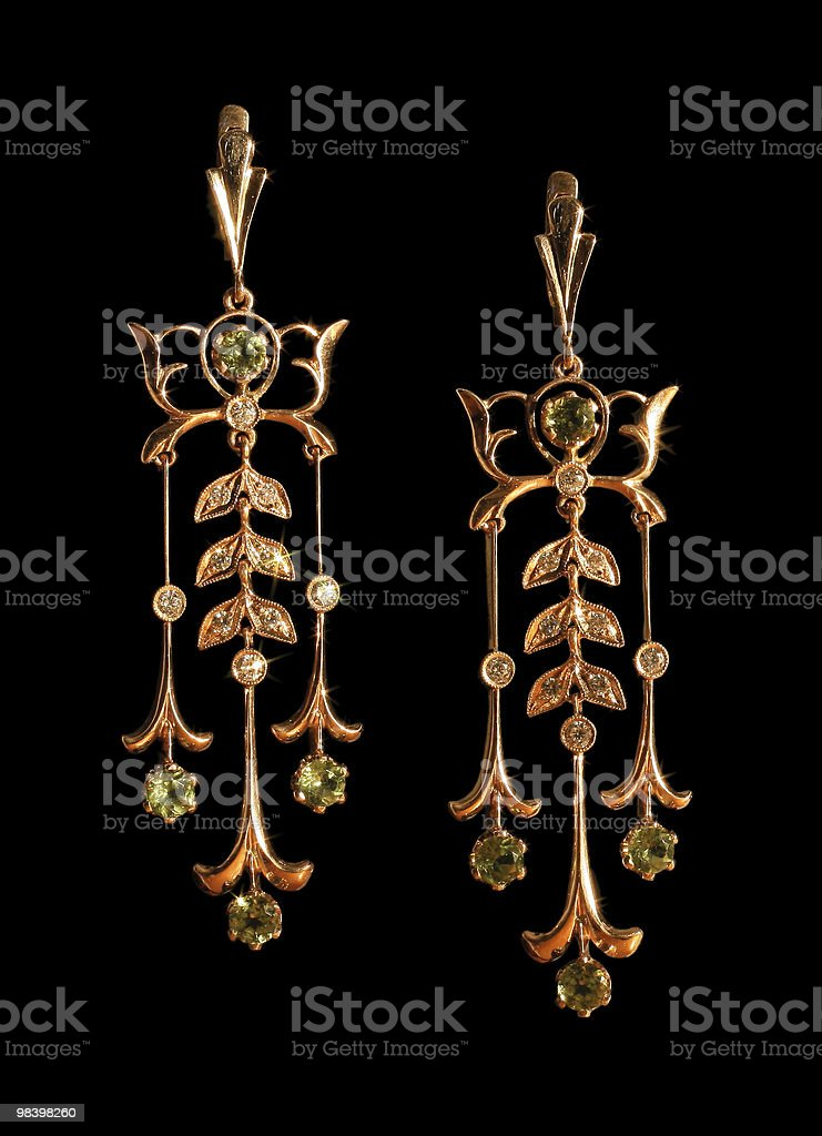 earring royalty-free stock photo