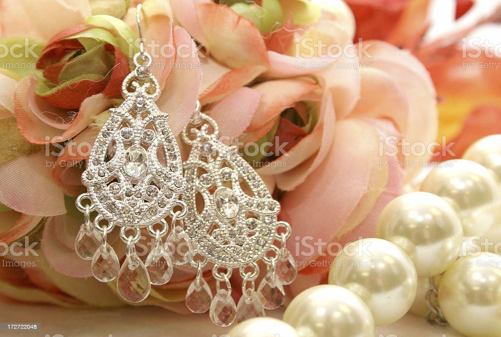 Earrings - Jewelry stock photo