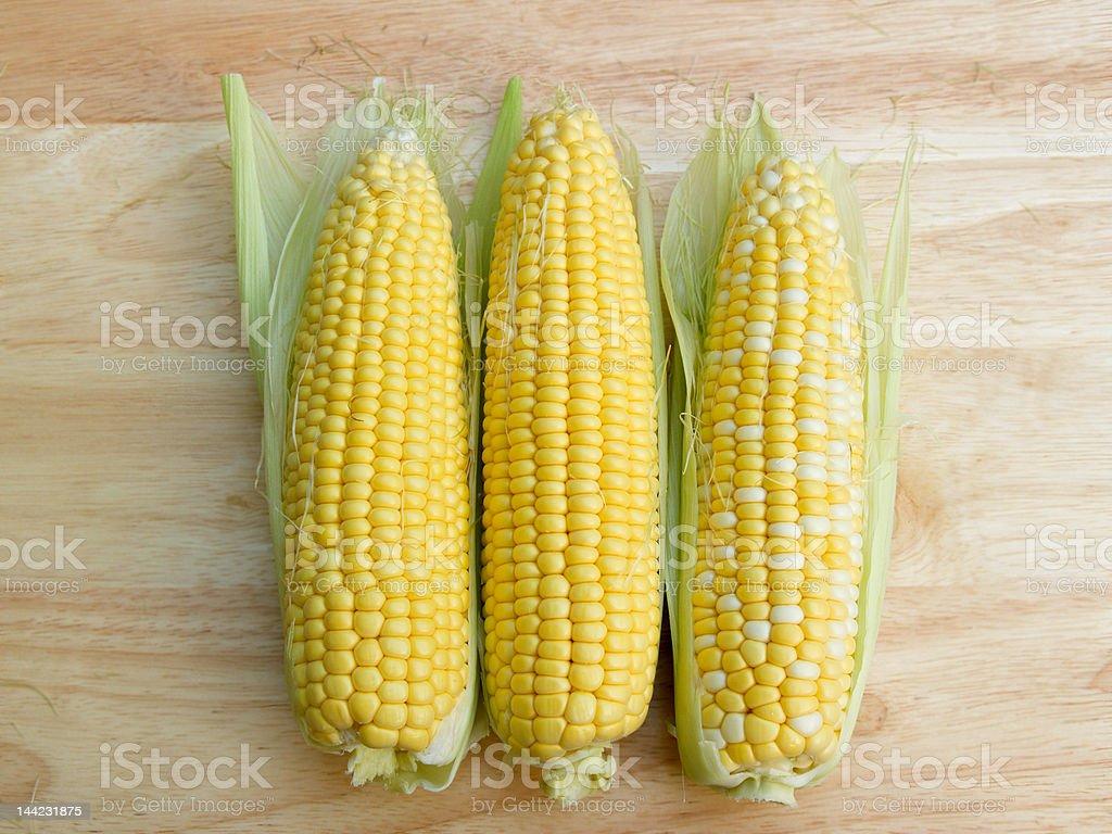 Ears of corn royalty-free stock photo