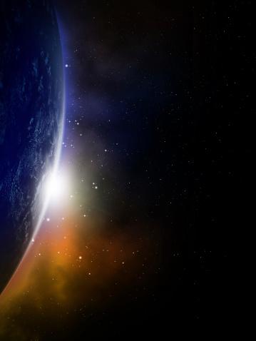 Digital Generated ImageGlobe image provided by NASA http://npp.gsfc.nasa.gov16:9 Space Scenes: