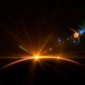 istock Earth and Rising Sun 165935649