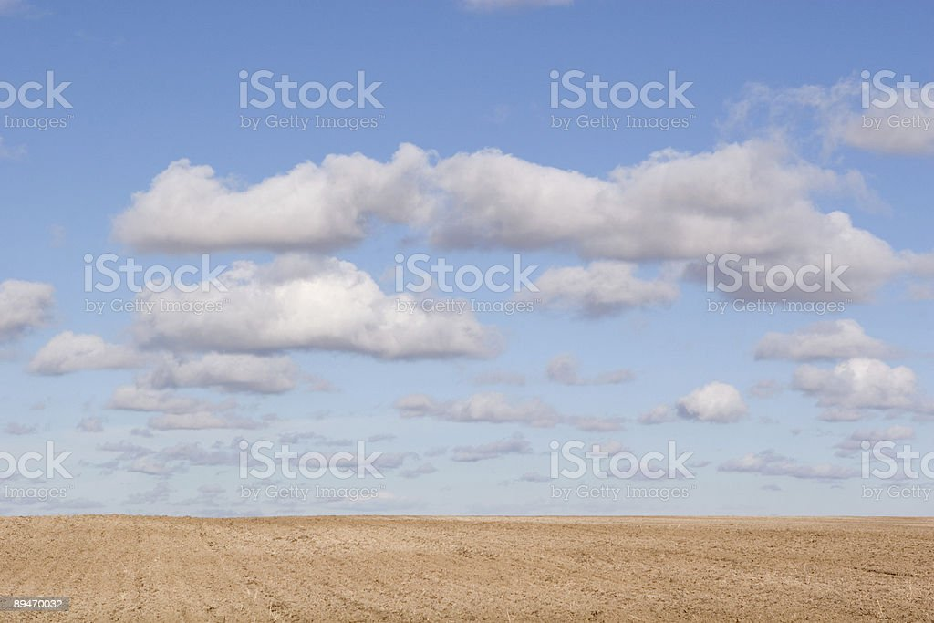 Earth and Sky royalty-free stock photo