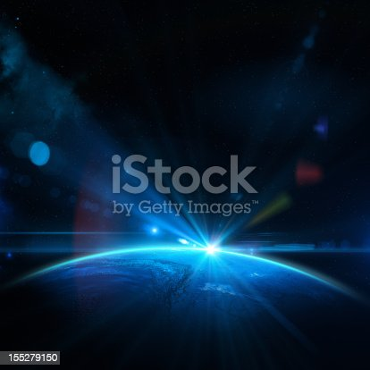 istock Earth and Sun 155279150