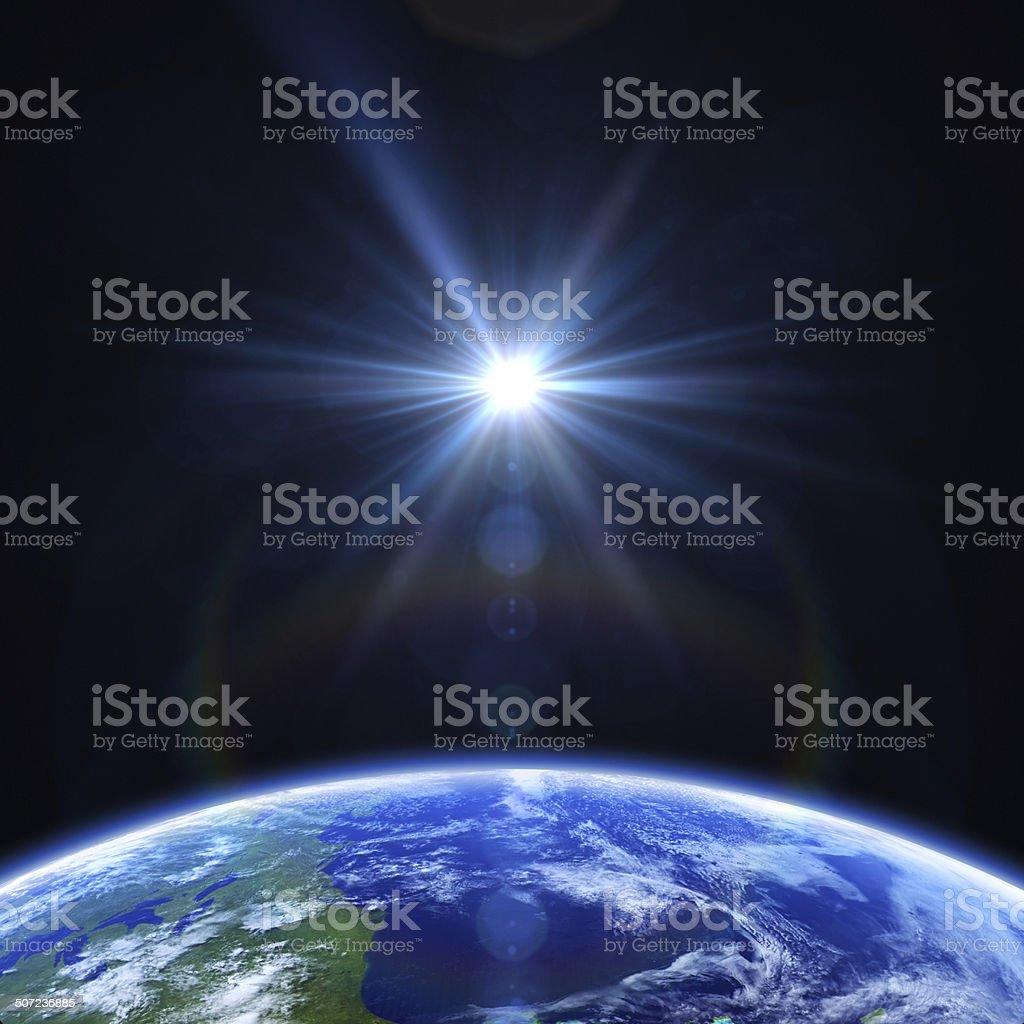 Terre et soleil - Photo