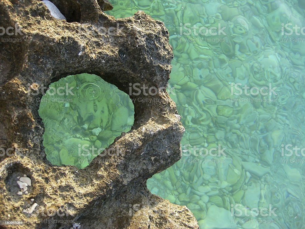 Earth and Water royalty-free stock photo