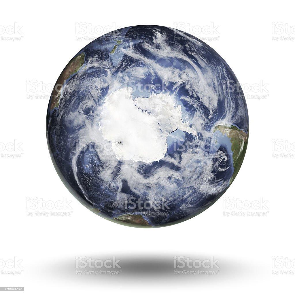 Earth - Antarctica Southern Hemisphere stock photo