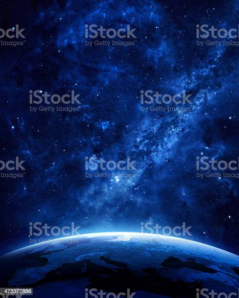 Photo of Earth at night