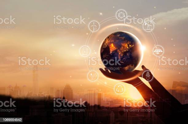 Earth at night was holding in human hands with energy resources icon picture id1069554542?b=1&k=6&m=1069554542&s=612x612&h=v4akxpjd7n6y7u9tnc5lztvnvy8pj4fxqbv1plrjwcy=