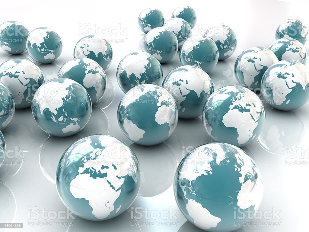 Earth Background royalty free stockfoto