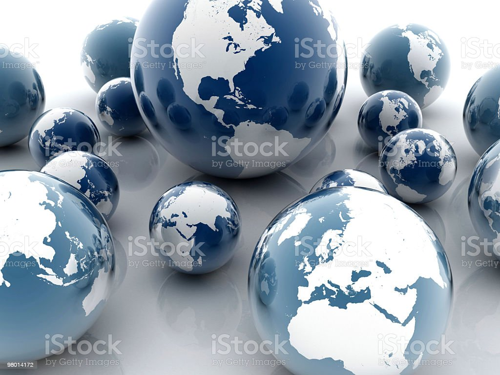 Earth Background royalty-free stock photo