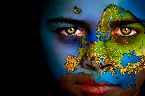 earth boy - europe - continent geographic area stock photos and pictures