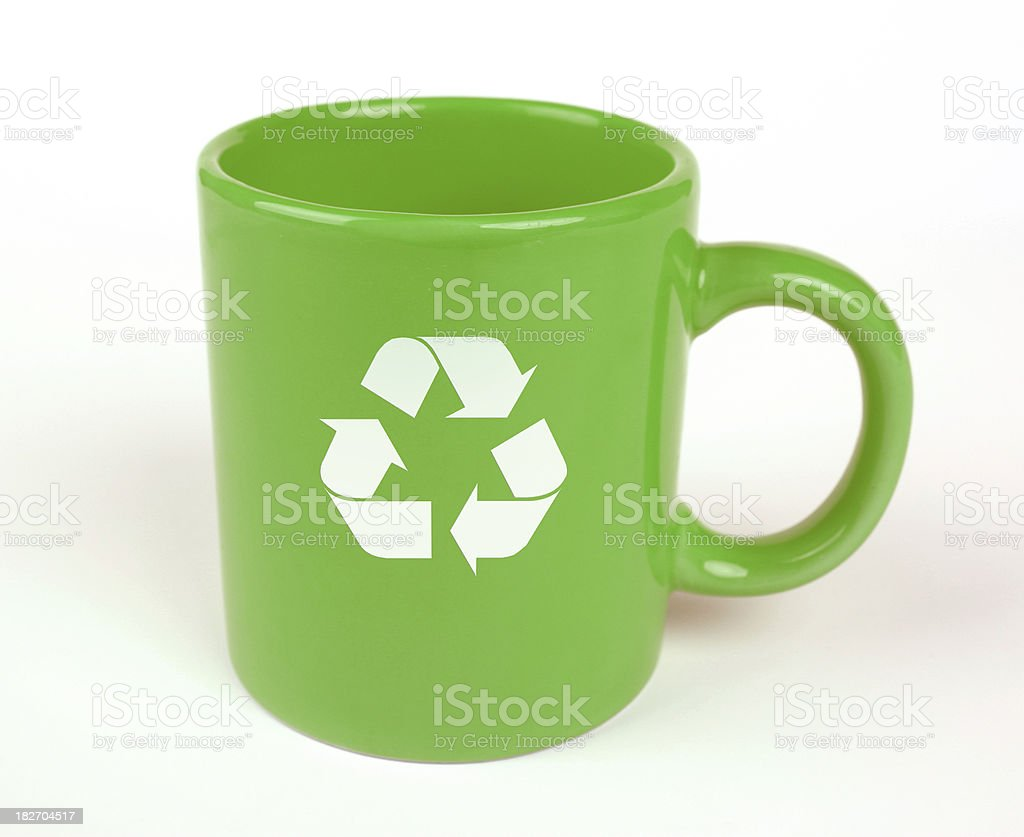 Earth Day Mug royalty-free stock photo