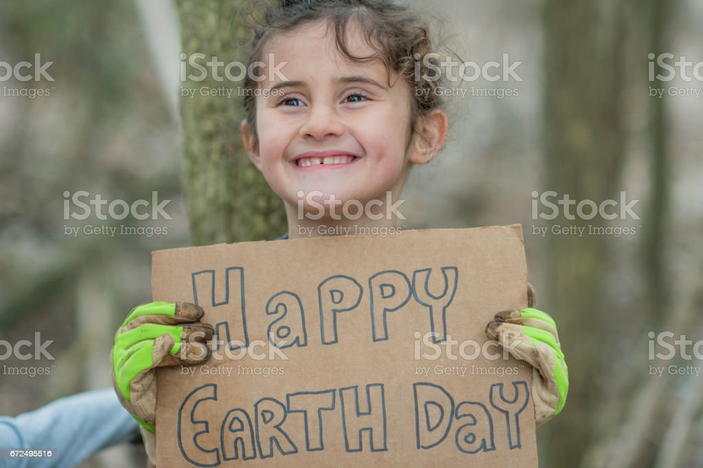 Earth Day stock photo