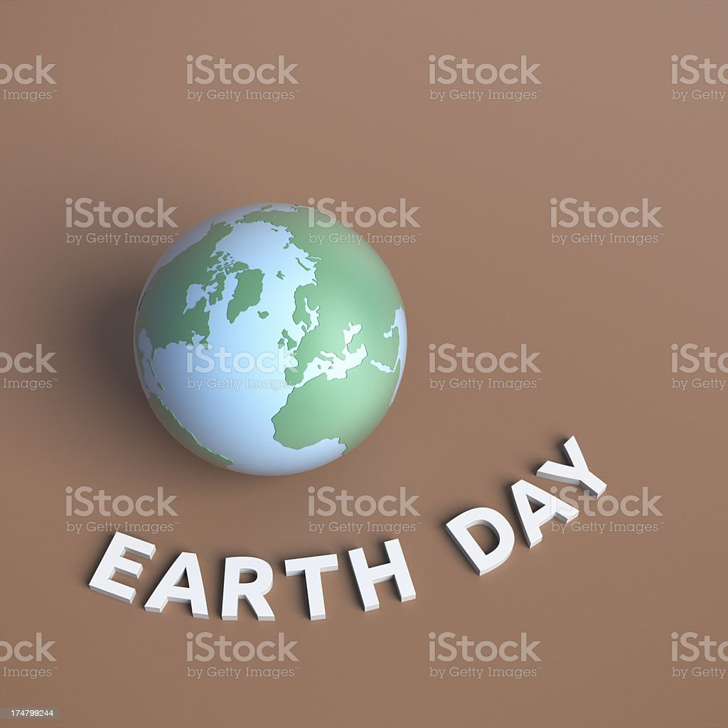 Earth Day XL royalty-free stock photo