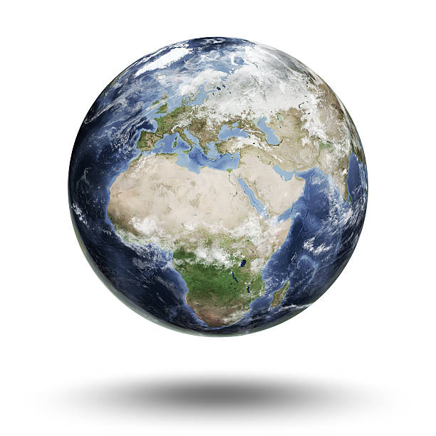 Erde-europäischen Eastern Hemisphere – Foto