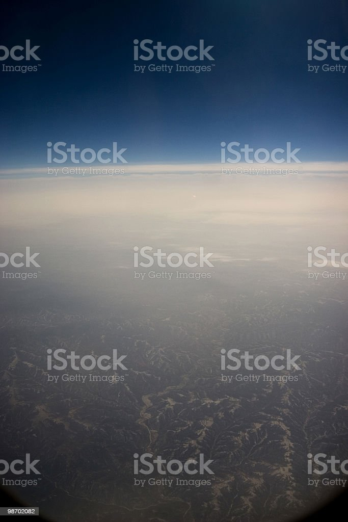 Earth from Above royalty-free stock photo