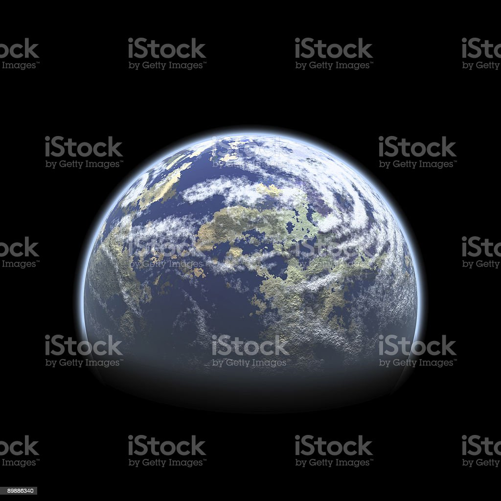 Earth from Space royalty-free stock photo