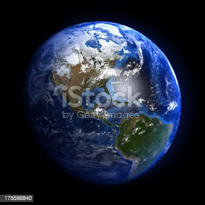 istock Earth from space showing North and South America. 175566840