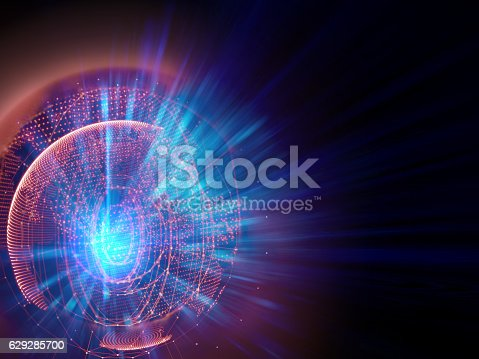 istock earth futuristic technology abstract background illustration 629285700