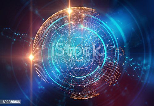 istock earth futuristic technology abstract background illustration 629285866