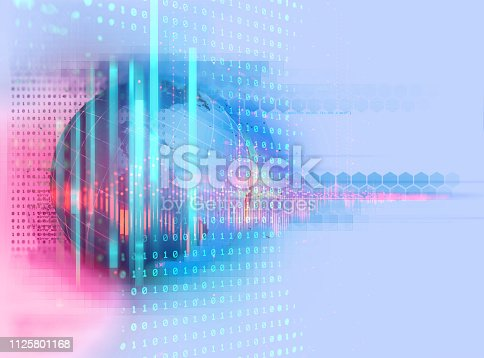 516932860 istock photo earth futuristic technology abstract background 1125801168