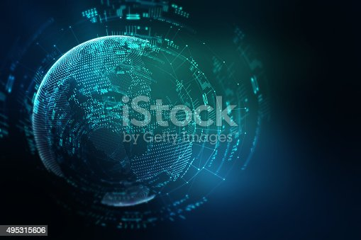 istock earth futuristic technology abstract background 495315606
