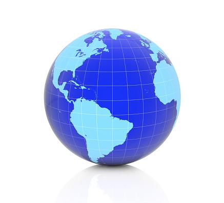 186019678 istock photo Earth globe - America 1223447081
