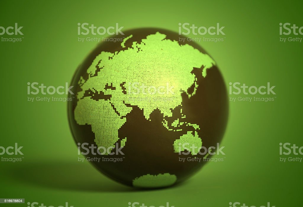 Earth Globe stock photo