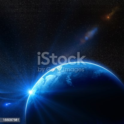 istock Earth In Space 155097581