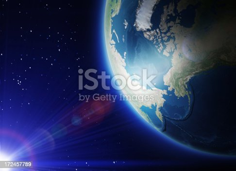 626787550 istock photo Earth in Space 172457789