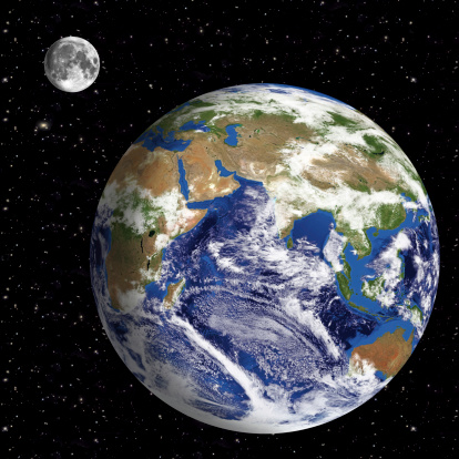 186019678 istock photo Earth Model: Asia View with space in background 180715949