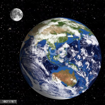 186019678istockphoto Earth Model: Australia View with space in background 180717877