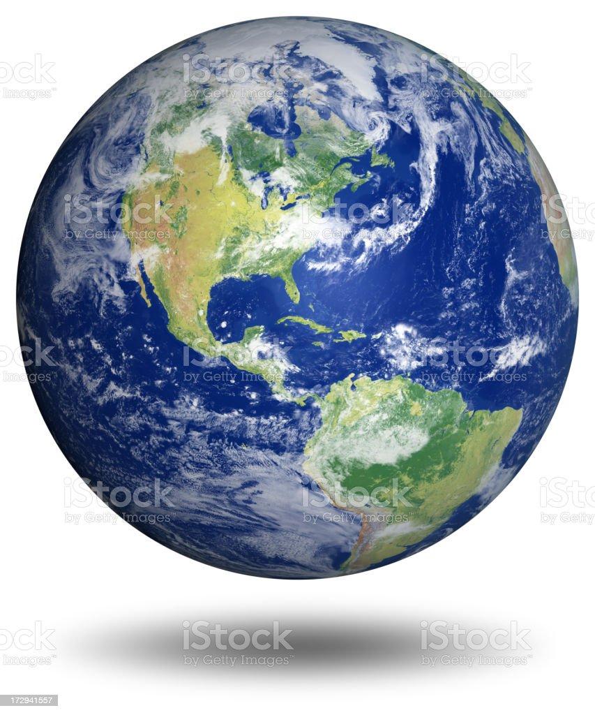 Earth Model: USA View stock photo