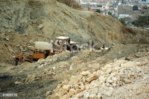 istock Earth mover 91605115