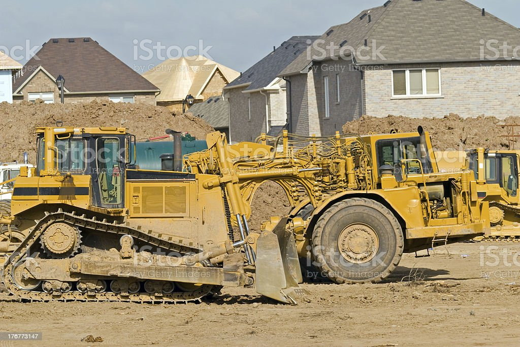 Earth Movers royalty-free stock photo