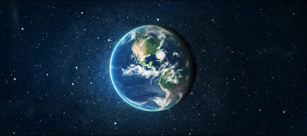 earth Earth globe over star space background. Elements of this image furnished by NASA planet space stock pictures, royalty-free photos & images