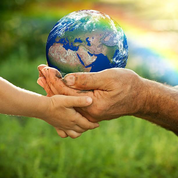 Planeta Terra - foto de acervo
