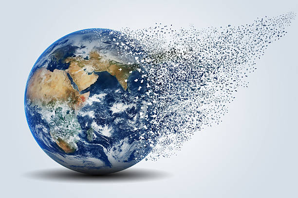 earth - disintegrate stock pictures, royalty-free photos & images