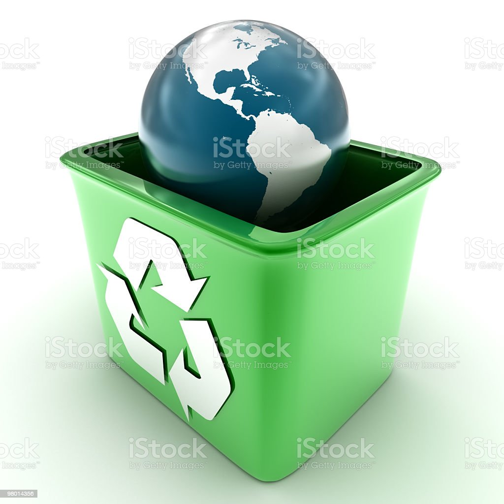 Earth Recycle ( 11000x11000 px ) royalty-free stock photo
