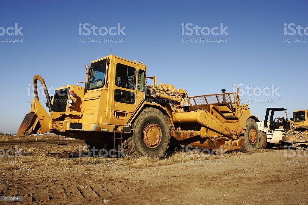 Earth Scraper stock photo