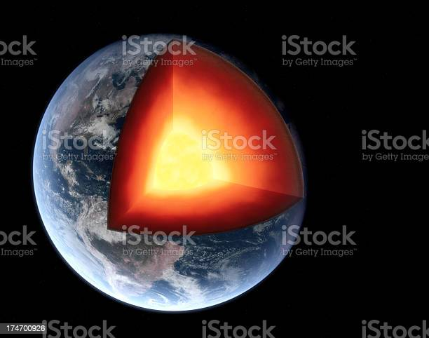 Earth Section Stock Photo - Download Image Now
