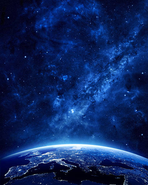 Erde bei Nacht – Foto
