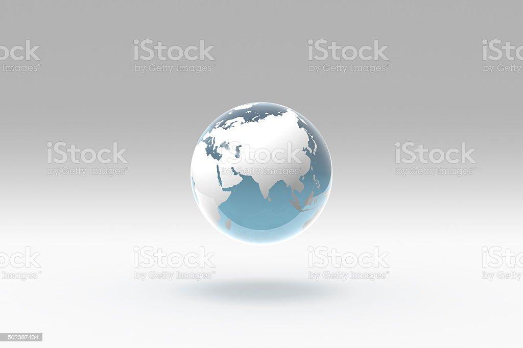 Earth world globe central asia russia stock photo more pictures of earth world globe central asia russia royalty free stock photo gumiabroncs Images